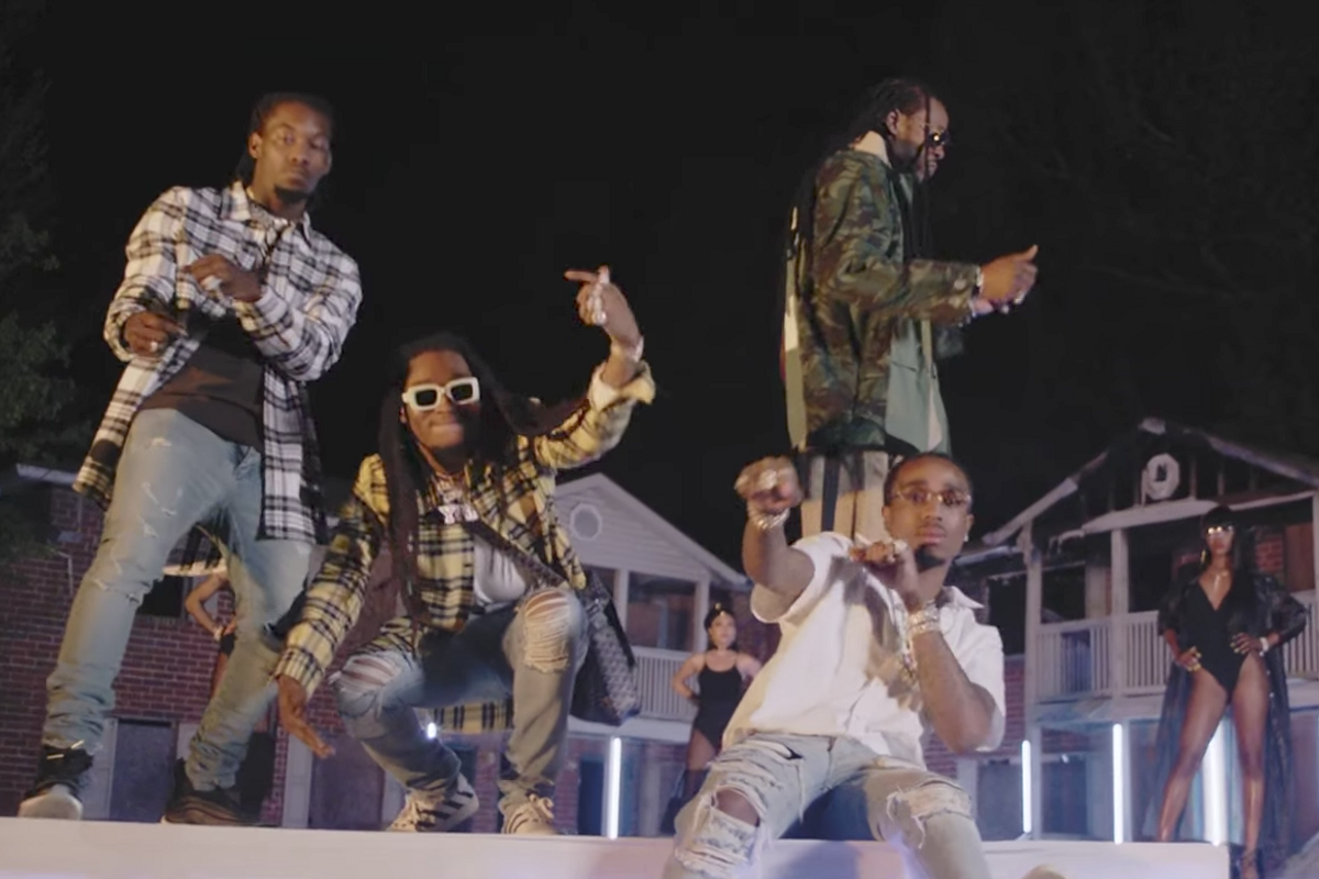 """Watch 2 Chainz and Migos Work the Runway in New """"Blue Cheese"""" Video"""