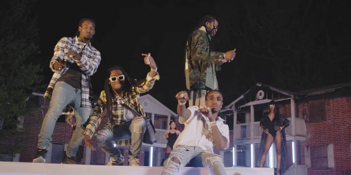 "Watch 2 Chainz and Migos Work the Runway in New ""Blue Cheese"" Video"
