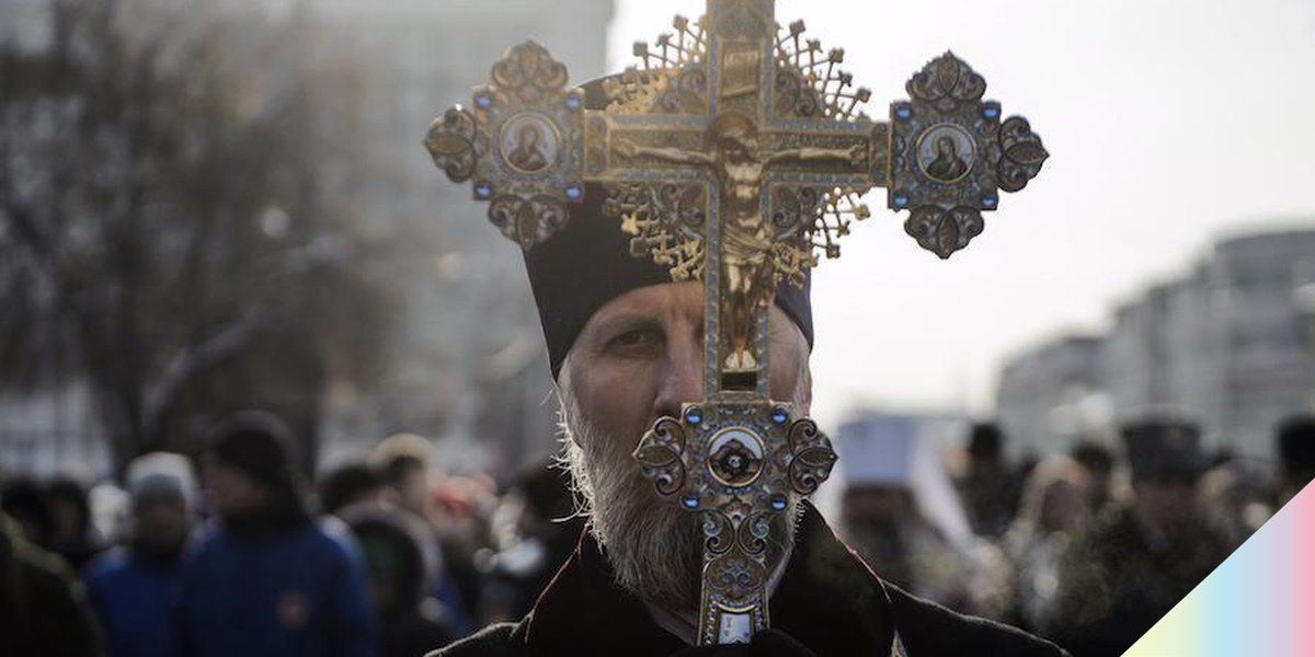 Putin-Supported Religious Leader Says Shaving Makes You Gay