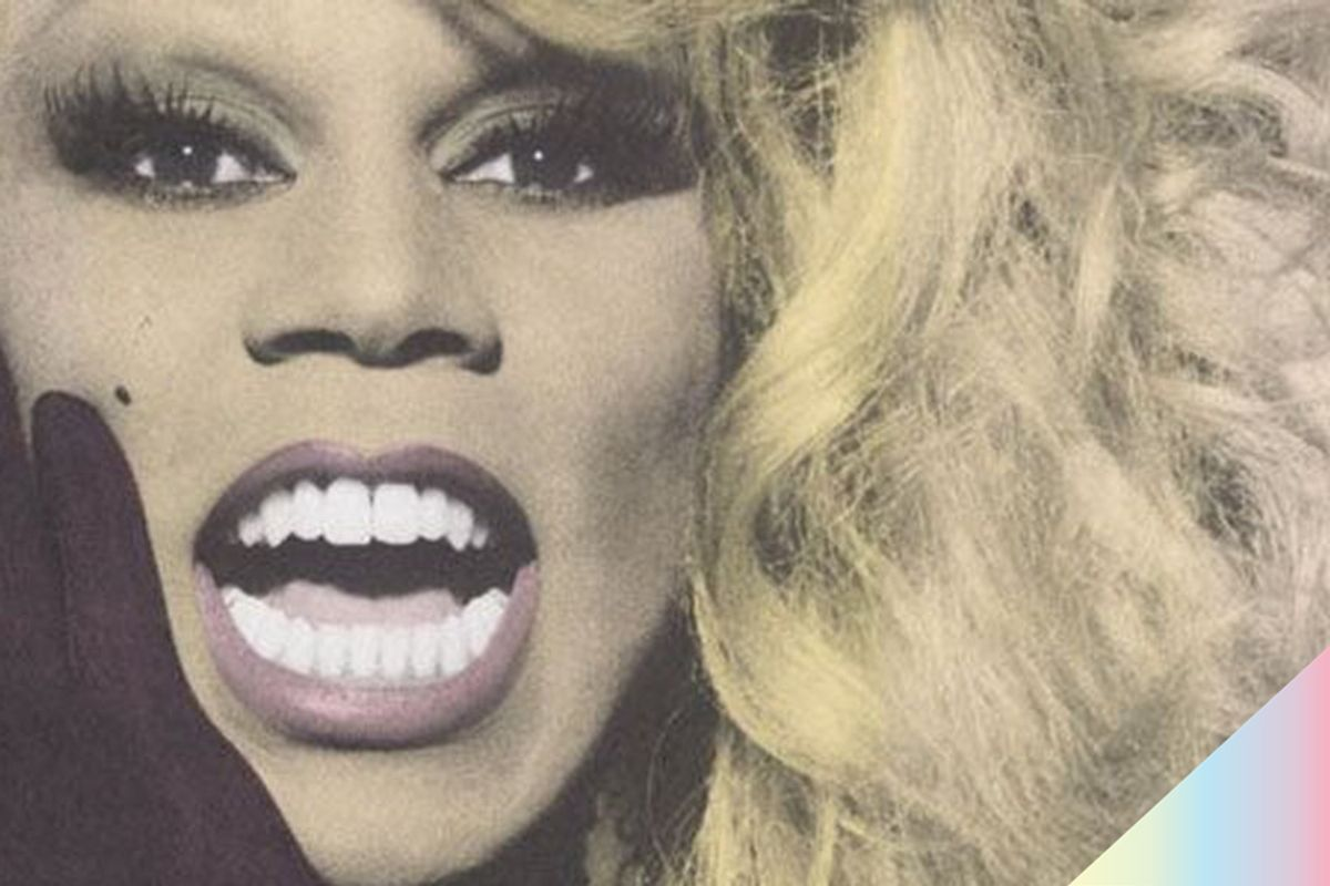 From The Archive: RuPaul's First 'Paper' Cover