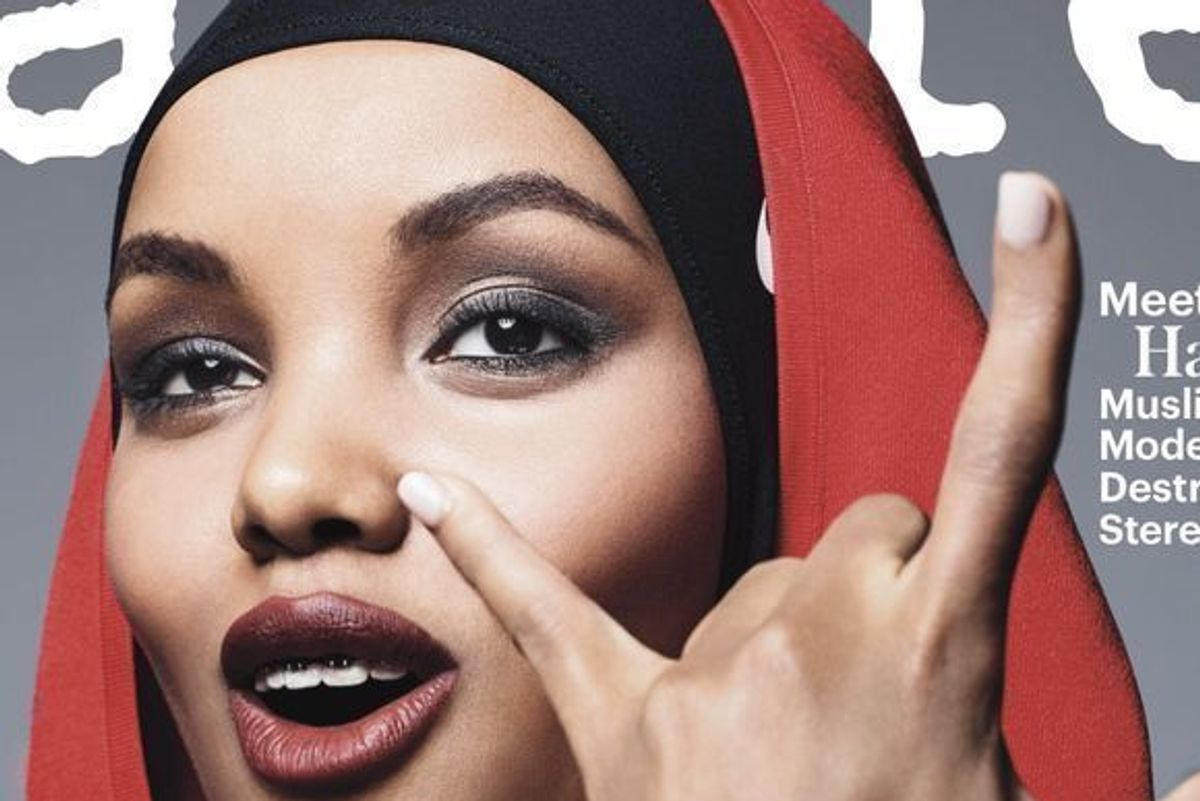 Halima Aden Makes History As Allure's First Ever Hijab-Wearing Cover Model