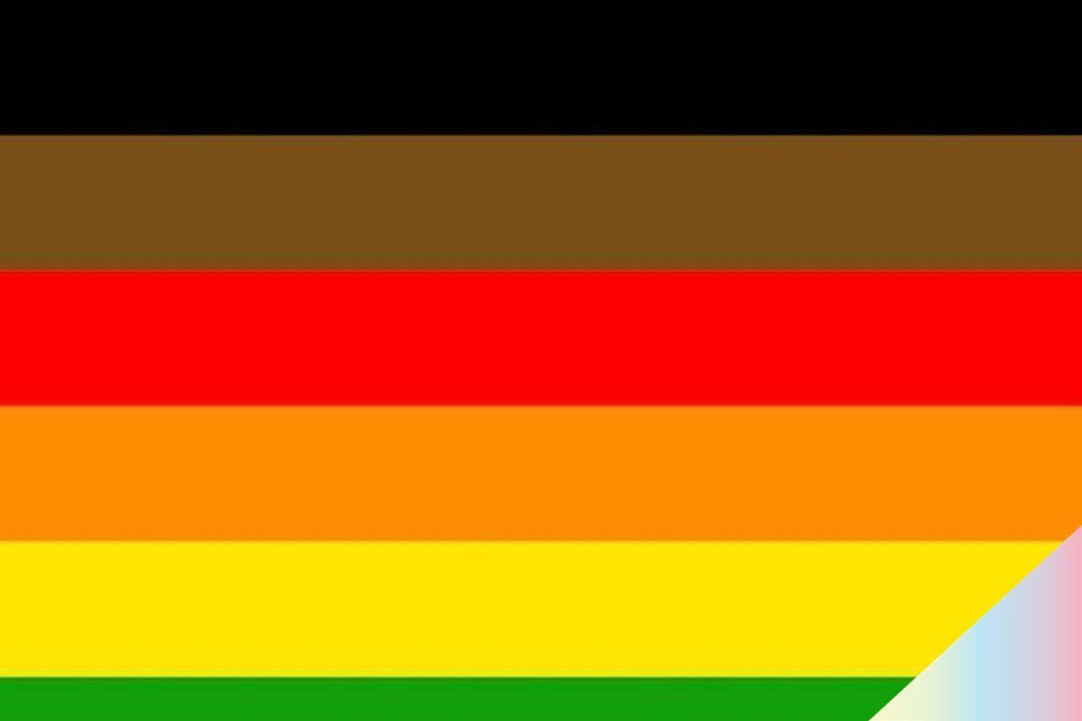 Philadelphia Designs Pride Flag for LGBTQ People of Color