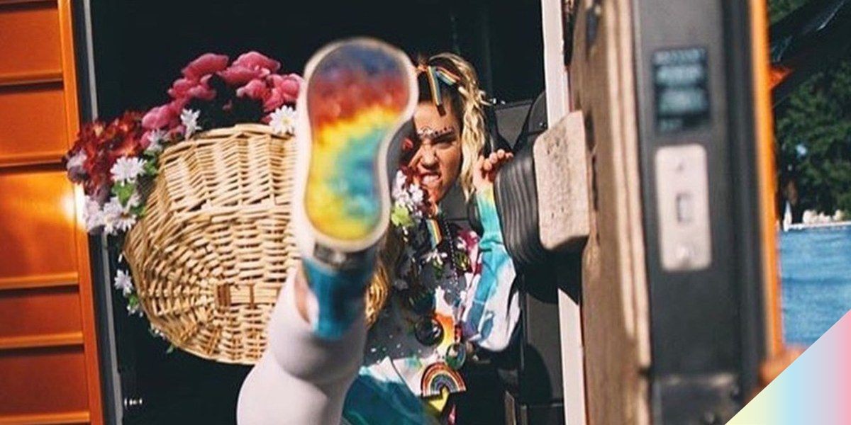 Miley Cyrus and Converse Team Up on Pride Collection PAPER