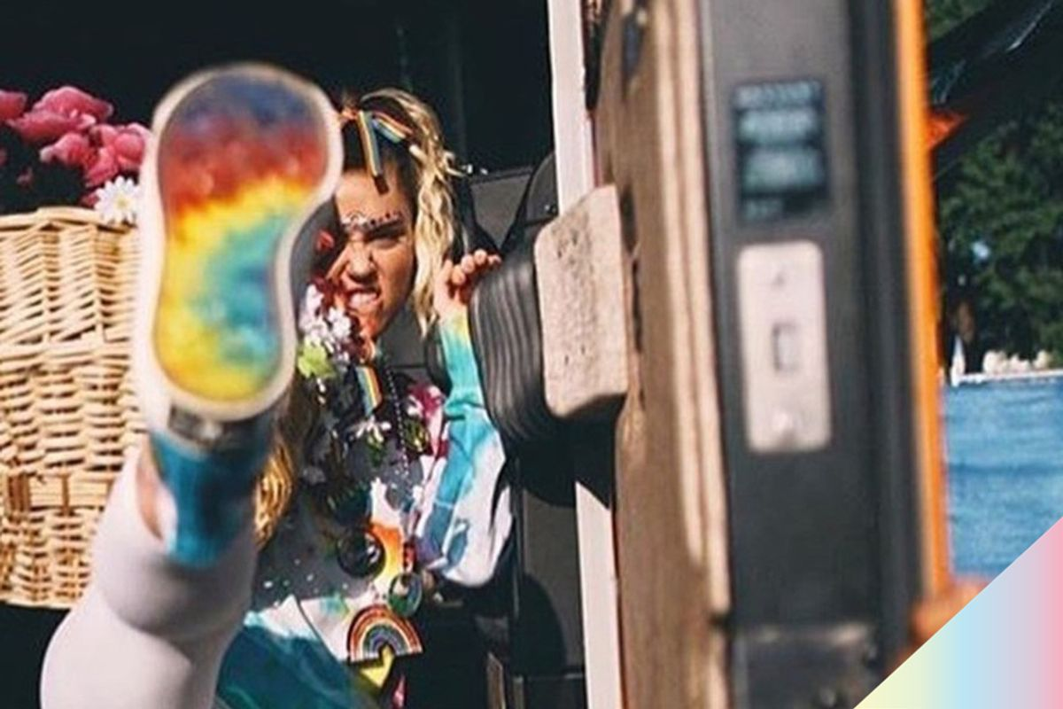 Miley Cyrus and Converse Team Up on Pride Collection