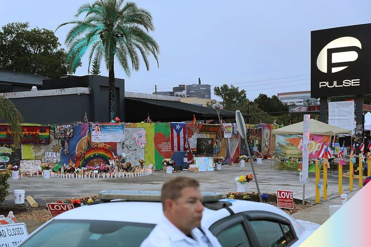 "49 ""Angels"" Surround Pulse Nightclub on Anniversary of Massacre"