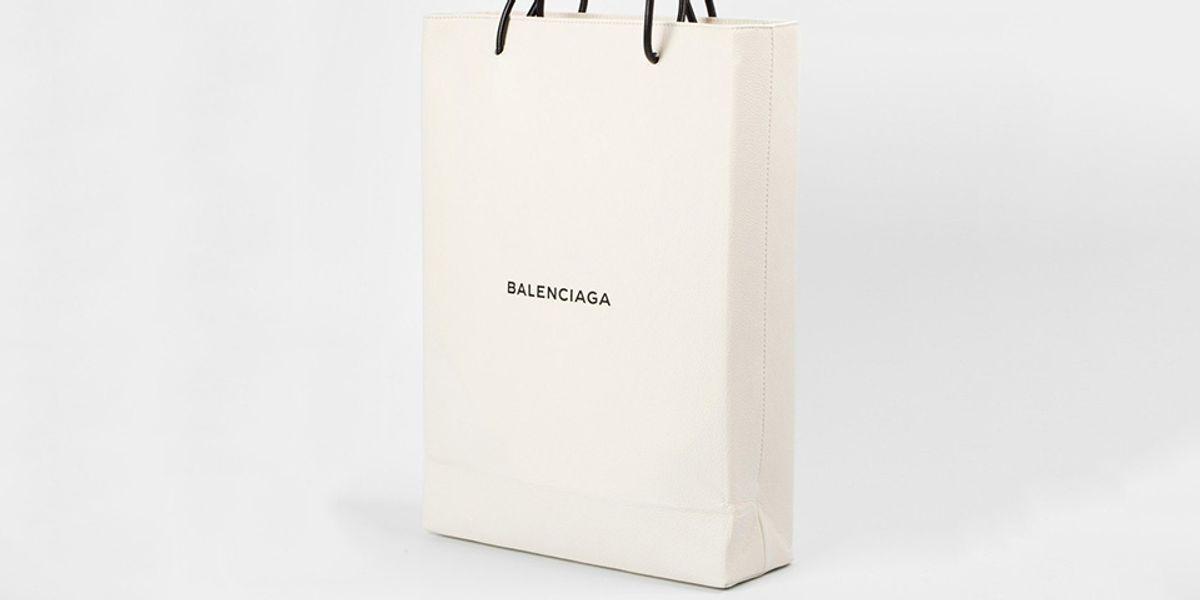 Balenciaga is Still Trolling, Releases a $1,100 Shopping Bag