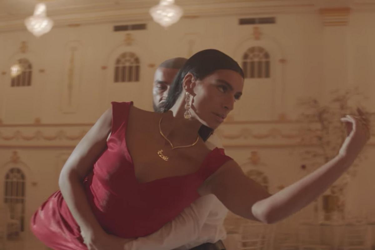 Sevdaliza Goes Ballroom Dancing With Francois Sagat in 'Bluecid' Video