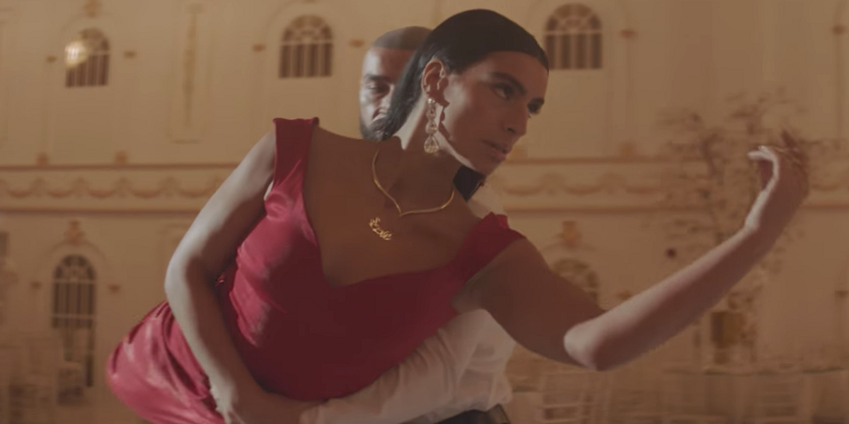 Sevdaliza Goes Ballroom Dancing With Francois Sagat in 'Bluecid' Video