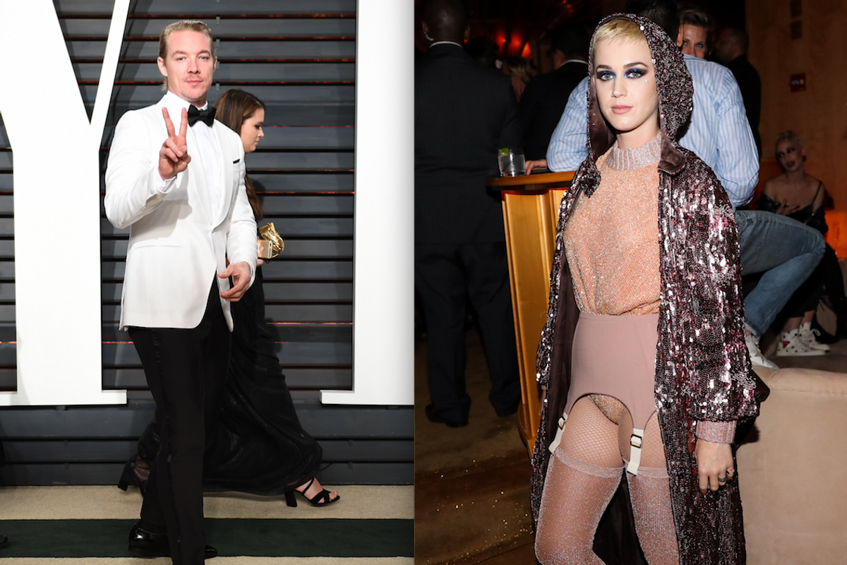 Katy Perry Might Have Ranked Diplo as the Worst in Bed, But Diplo Doesn't Even Remember the Sex At All