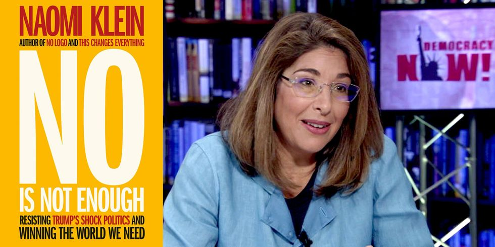 Naomi Klein: No Is Not Enough