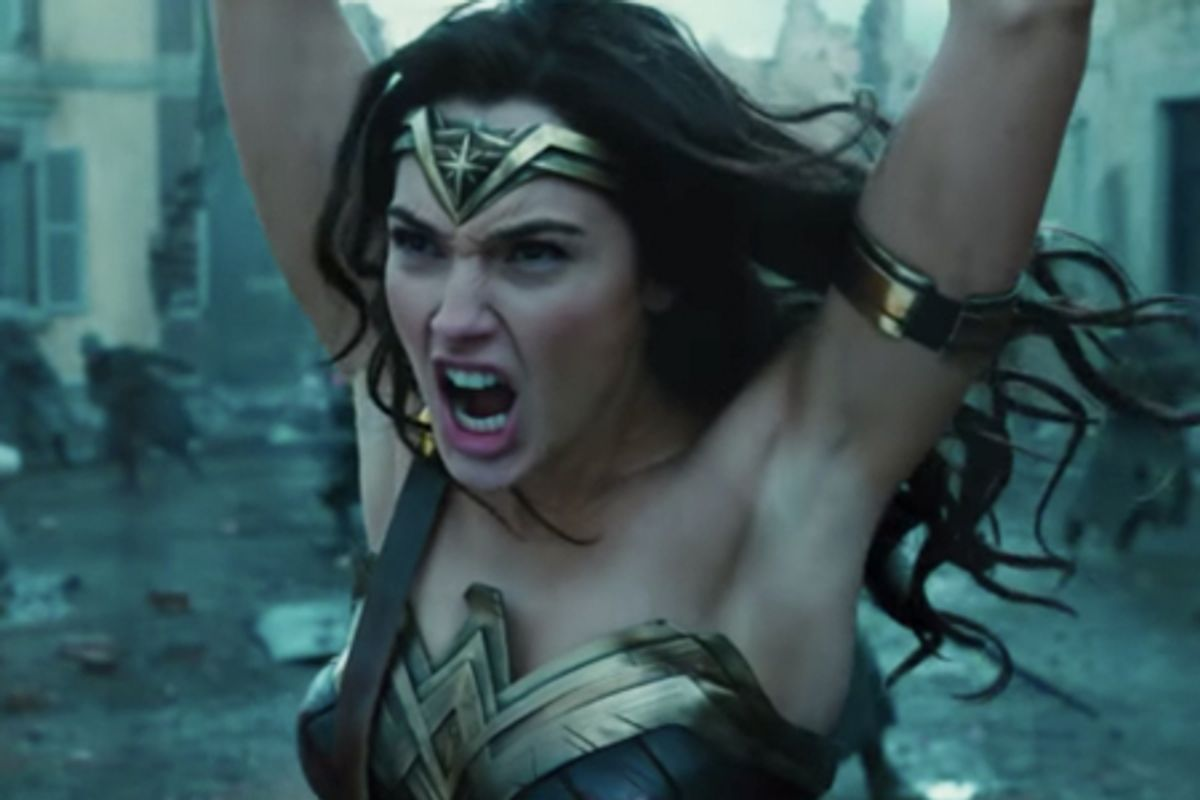 Attendees at a 'Wonder Woman' Women-Only Screening Were Handed Cleaning Products and Diet Pill-Filled Gift Bags