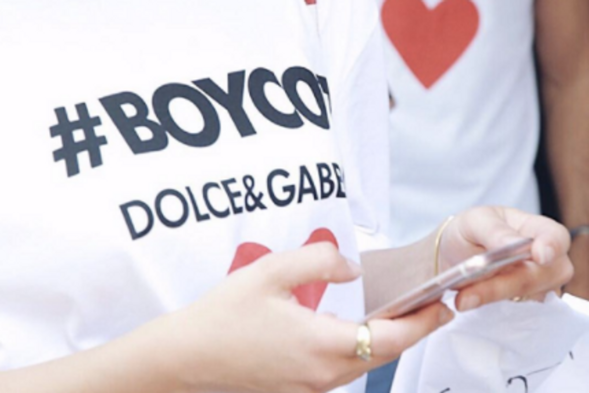 Dolce & Gabbana Sell #Boycott T-Shirts To Capitalize On Melania Trump Controversy