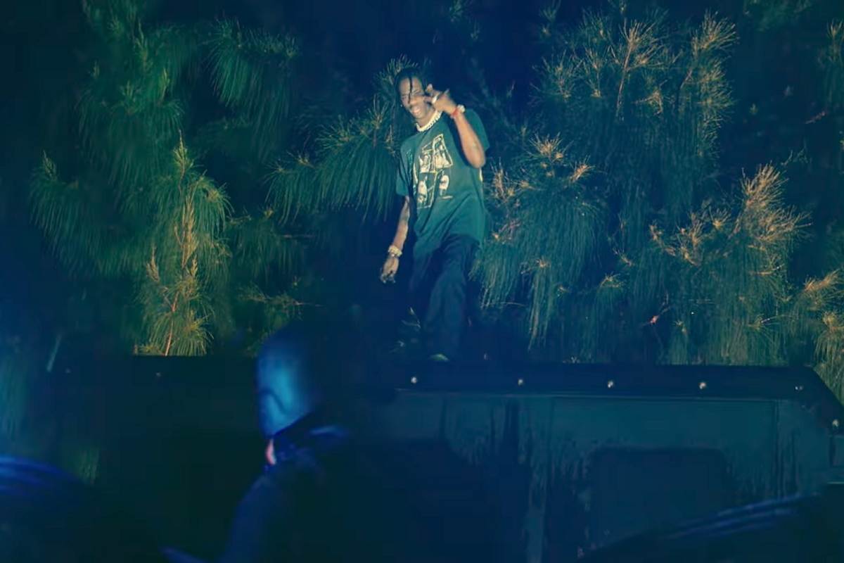 """Watch Travis Scott and Nas Link Up For a Heist in New """"It's Secured"""" Video with DJ Khaled"""