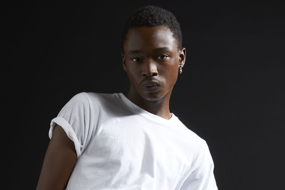 """Ashton Sanders Steps Out of """"Moonlight"""" and Into the Spotlight"""