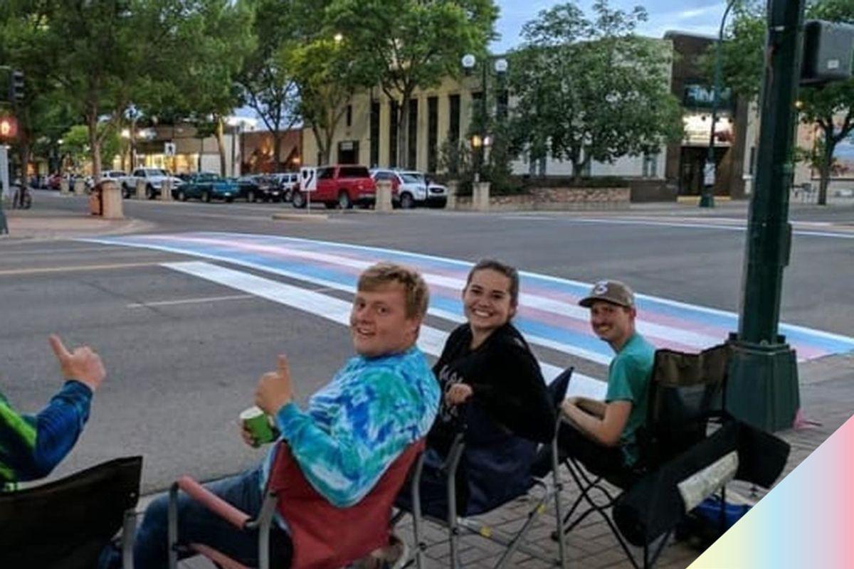 These Canadian Heroes Stood Watch Over Pride Crosswalks