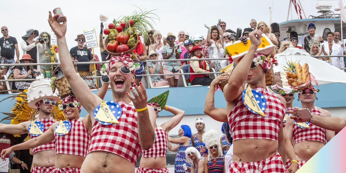 """30 Years of Fire Island's """"Invasion of the Pines"""" in Photos"""
