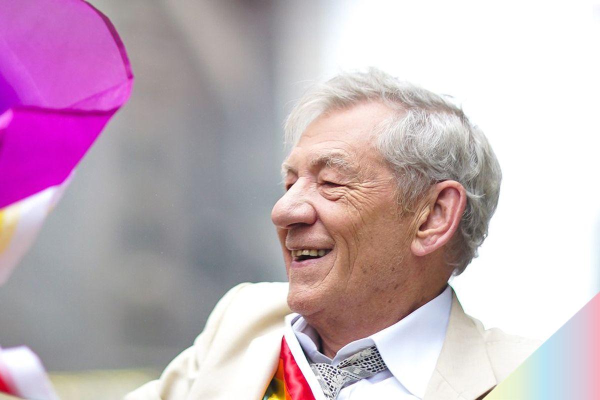 Sir Ian McKellen Says He Wants a Gay James Bond