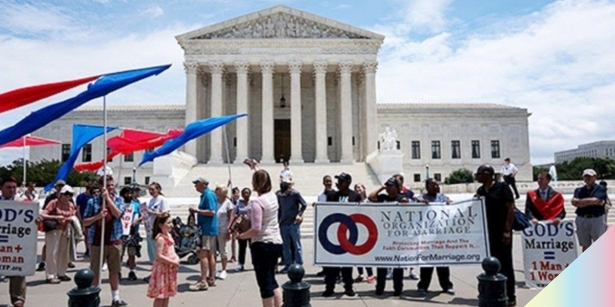 Man Throws Anti-Gay Marriage Rally, No One Shows Up