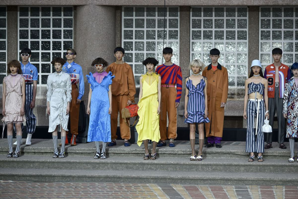 Kenzo Made a Point of Casting Only Asian Models For its Spring 2018 Show