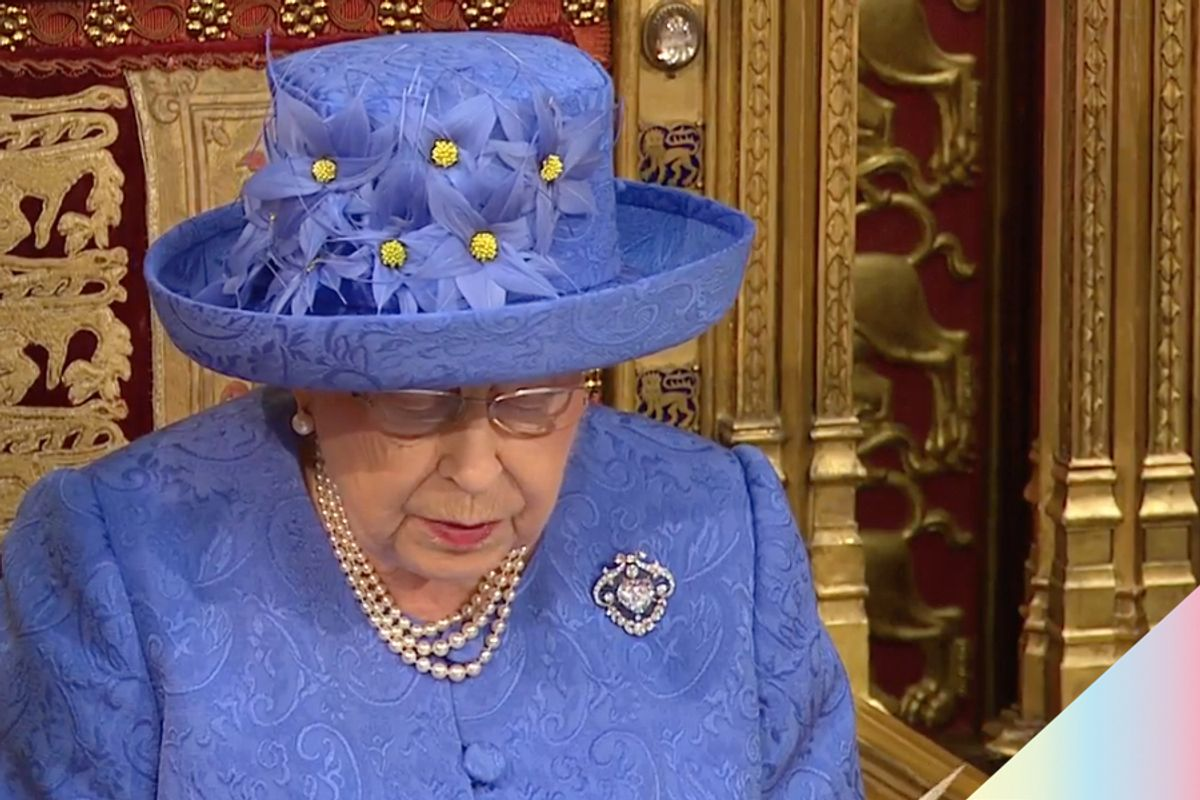 Queen Elizabeth's Speech Includes Pledge to Fight Anti-Gay Discrimination