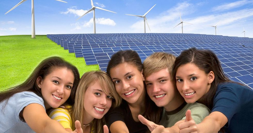 Teenagers See Renewables as Fuel of Their Generation