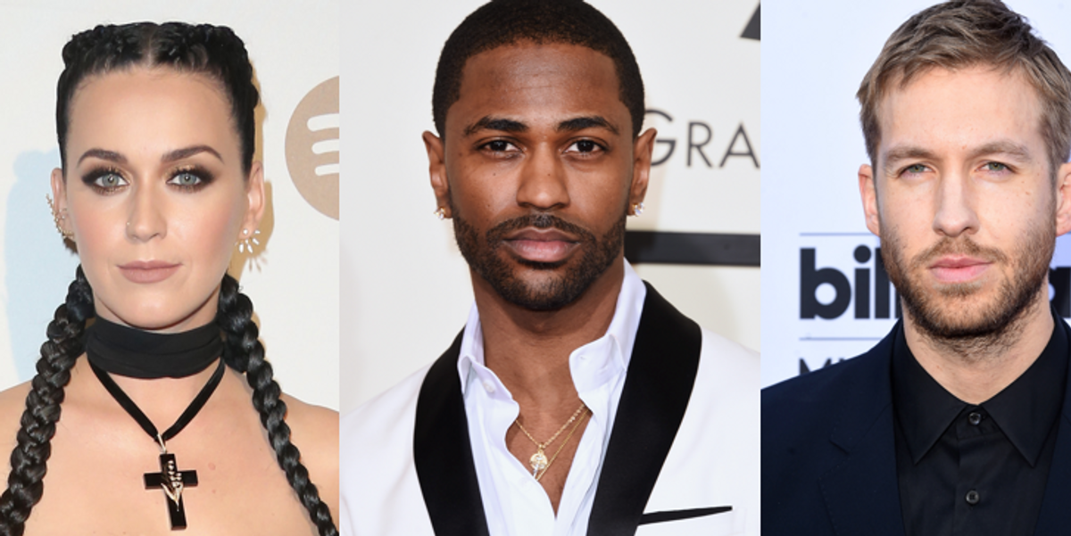"""Katy Perry, Pharrell and Big Sean Are Stranded on a Deserted Island For New Calvin Harris Video """"Feels"""""""