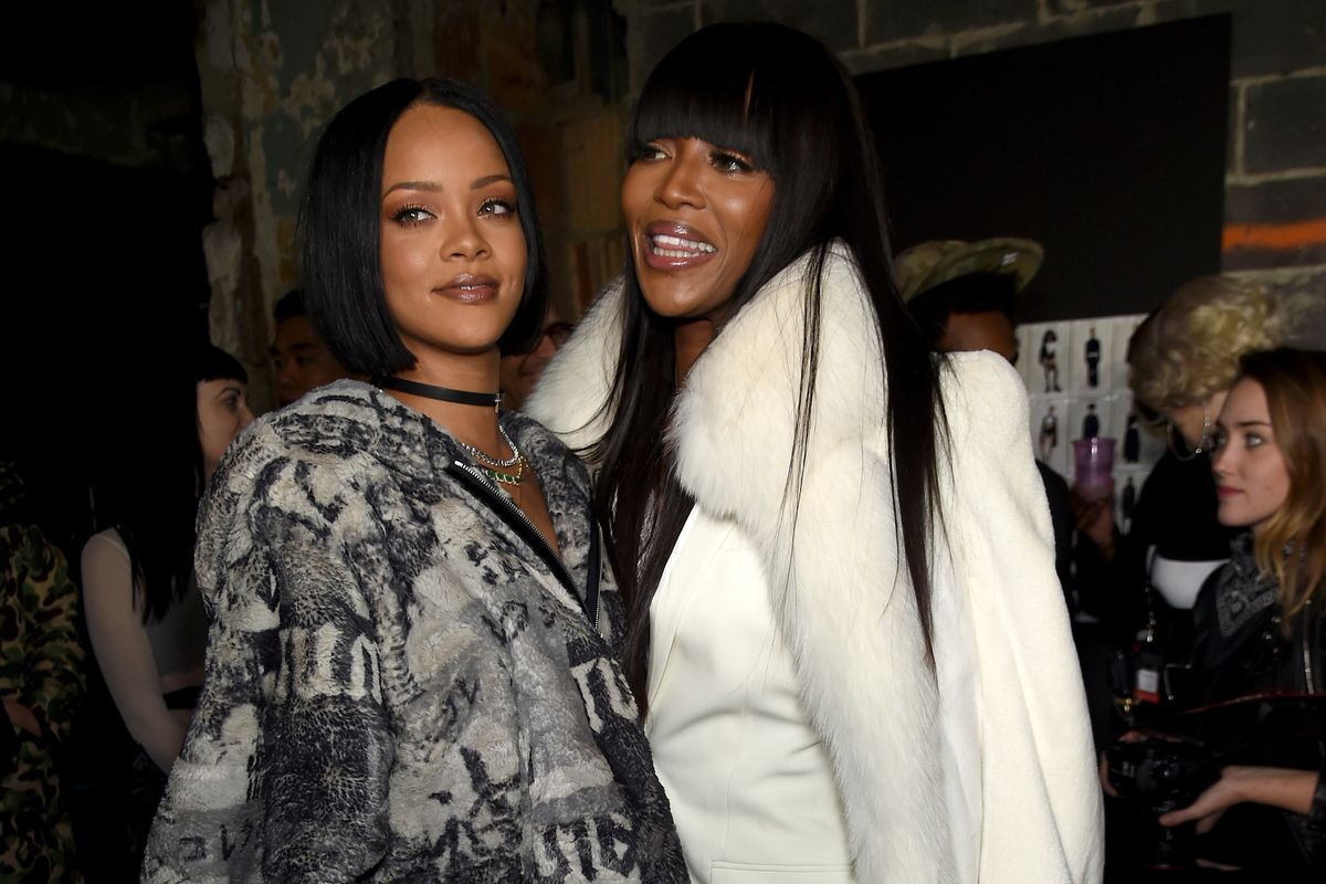 Rihanna's New Man Believed to be the Source of Naomi Campbell Feud