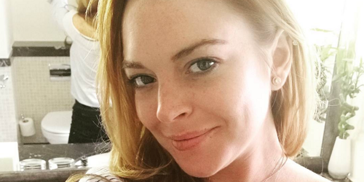 """Lindsay Lohan Has Now Launched a Lifestyle Site Called """"Preemium"""" Because Of Course She Has"""