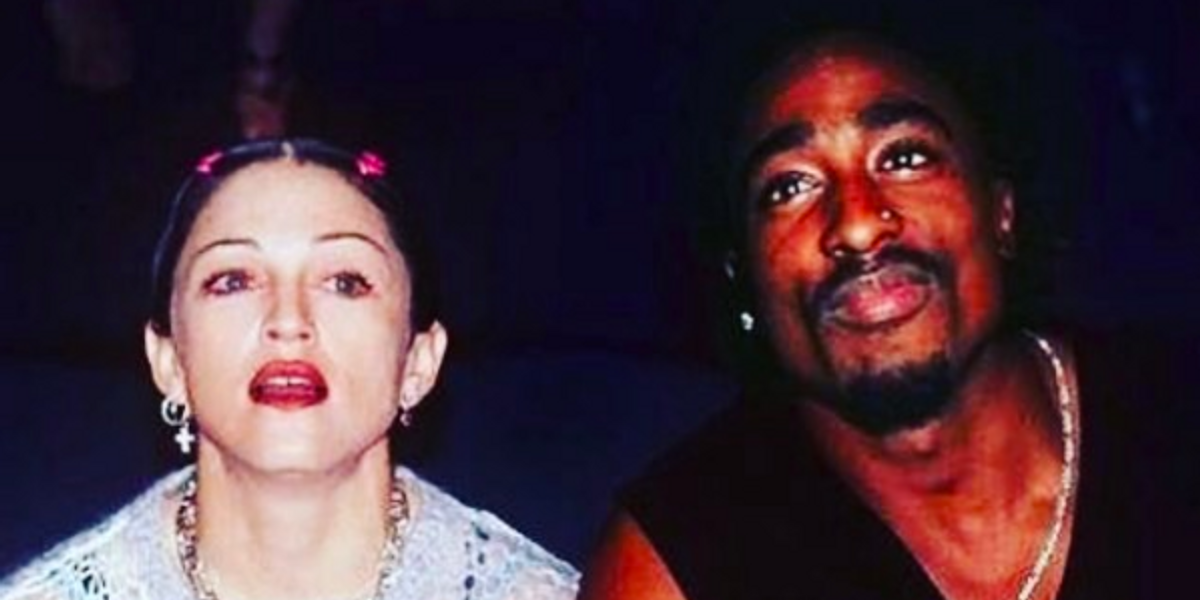 Tupac Admits to Madonna He Broke Up with Her for Being White in Unearthed Prison Letter
