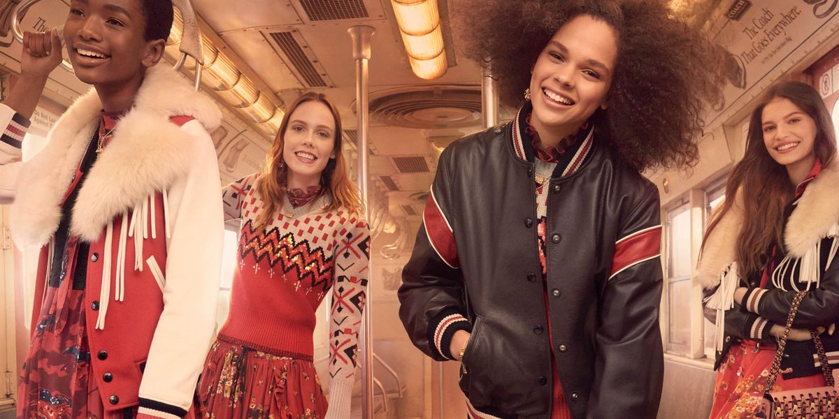 Coach's Fall 2017 Collection Campaign Snapshots New York City