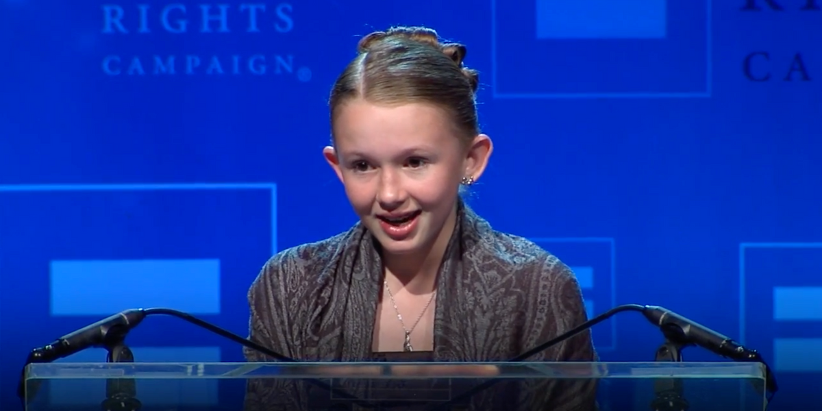 Young Lesbian Mormon Honored by the HRC for Her Bravery