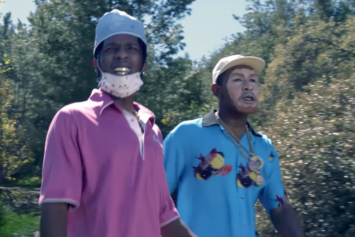 A$AP Rocky Gives Tyler, The Creator a (White) Facial Transplant in 'Who Dat Boy' Video