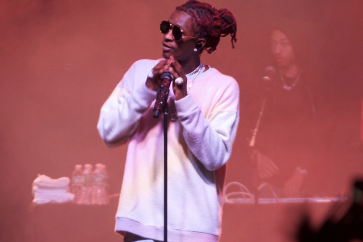 Young Thug Says He'll Donate The Proceeds From His NYC Show to Planned Parenthood