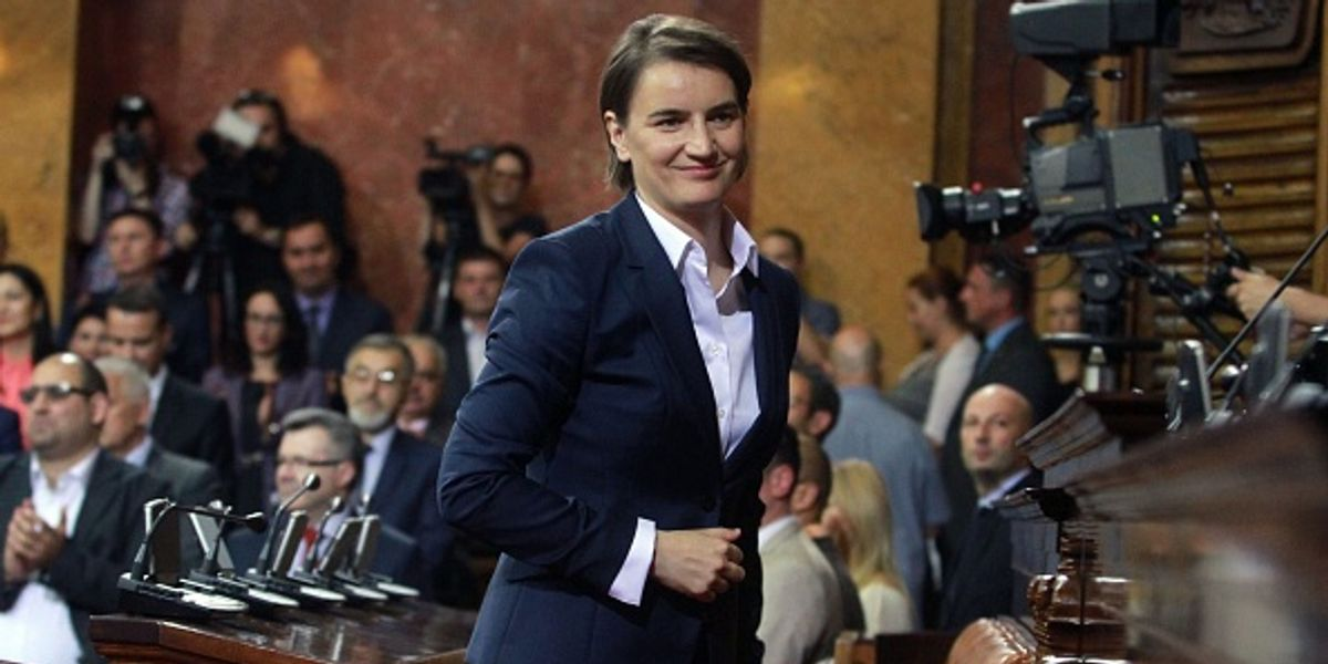 Serbia Elects Its First Female and Openly Gay Prime Minister