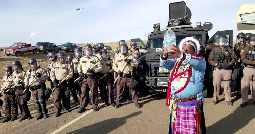 Pipeline Developer Distances Itself From Private Security Firm That Operated During the NoDAPL Protests