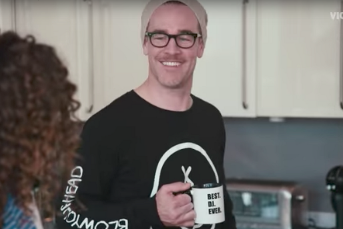 "Watch James Van Der Beek Channel Diplo in New Trailer ""What Would Diplo Do?"""