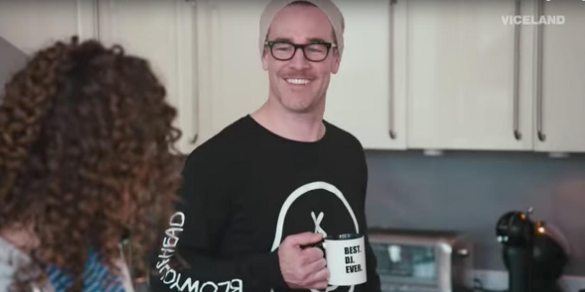 "Watch James Van Der Beek Channel Diplo in New Trailer ""What Would Diplo Do?"""