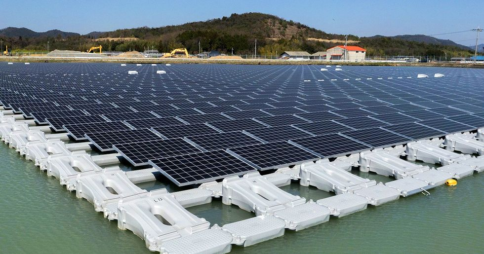 Floating Solar Farms Crop Up in California
