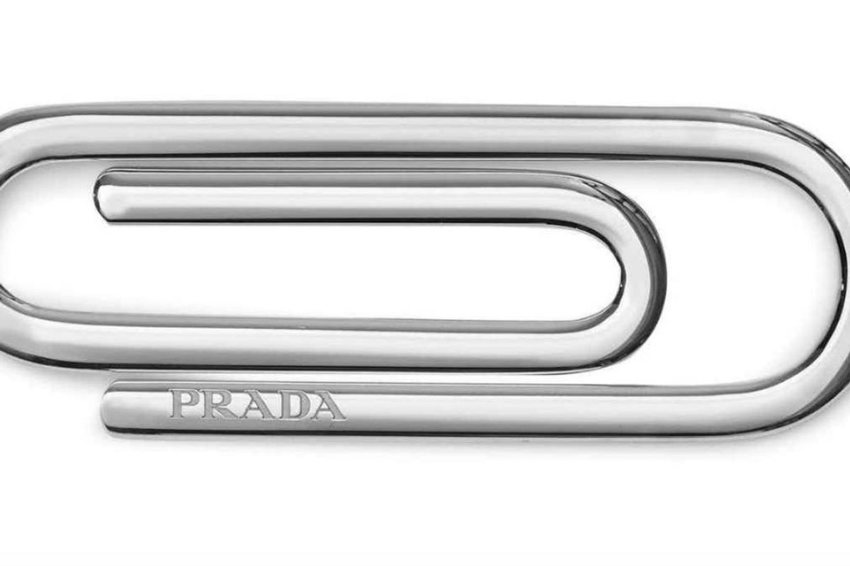 """Today in """"Let Them Eat Cake"""", Prada is Selling a $185 Paper Clip"""