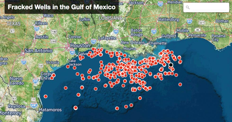Stop Dumping Offshore Fracking Waste Into Gulf of Mexico