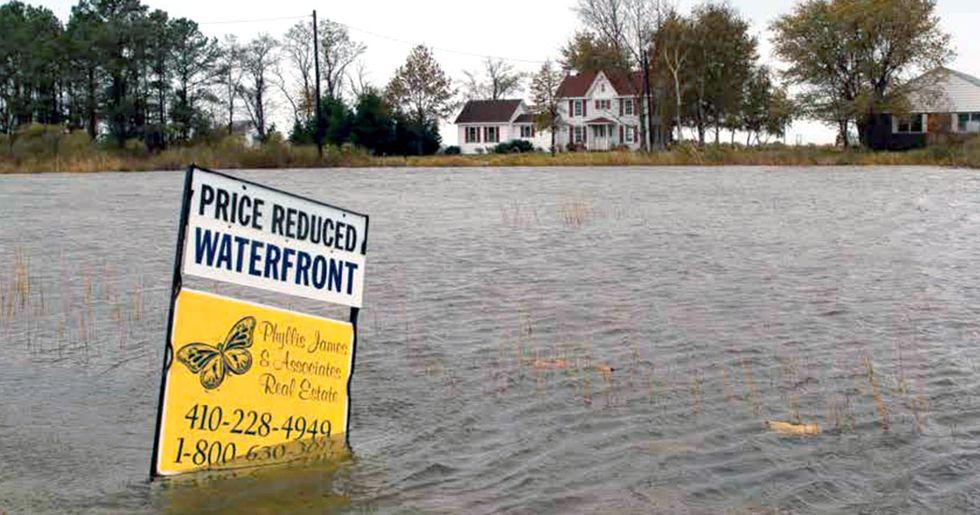 Sea Level Rise to Flood Major U.S. Cities