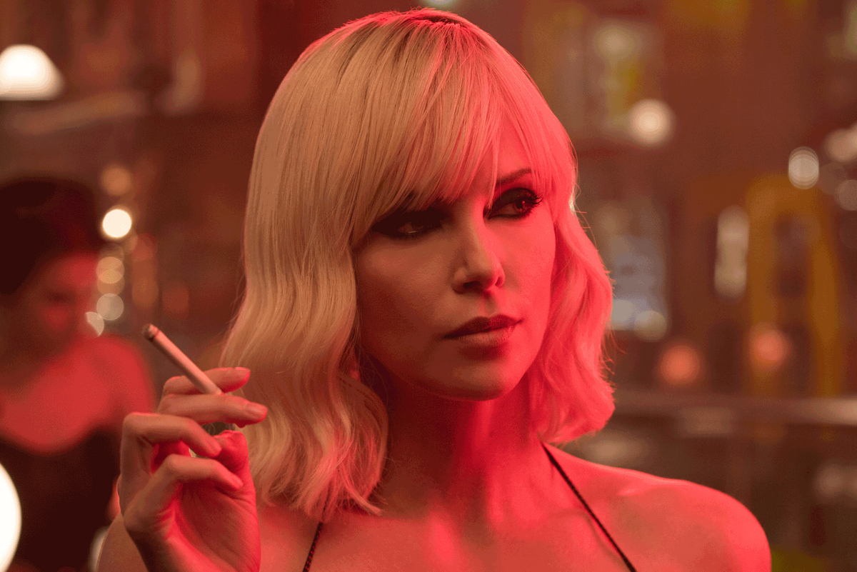 "Charlize Theron ""Just Loved"" Playing a Bisexual Spy"