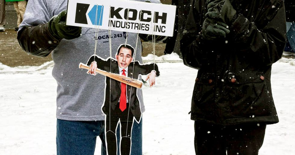 Wisconsin Governor Set to Sign Koch-Funded Anti-Regulations Bill