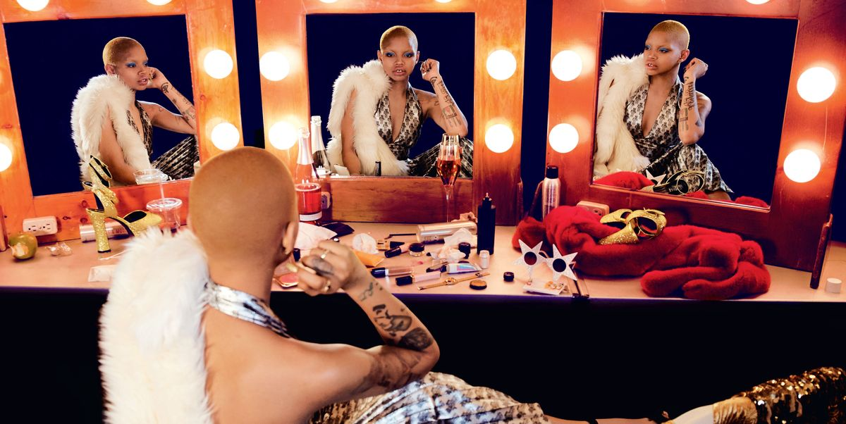 Slick Woods Is the Star of Jeremy Scott's FW18 Campaign