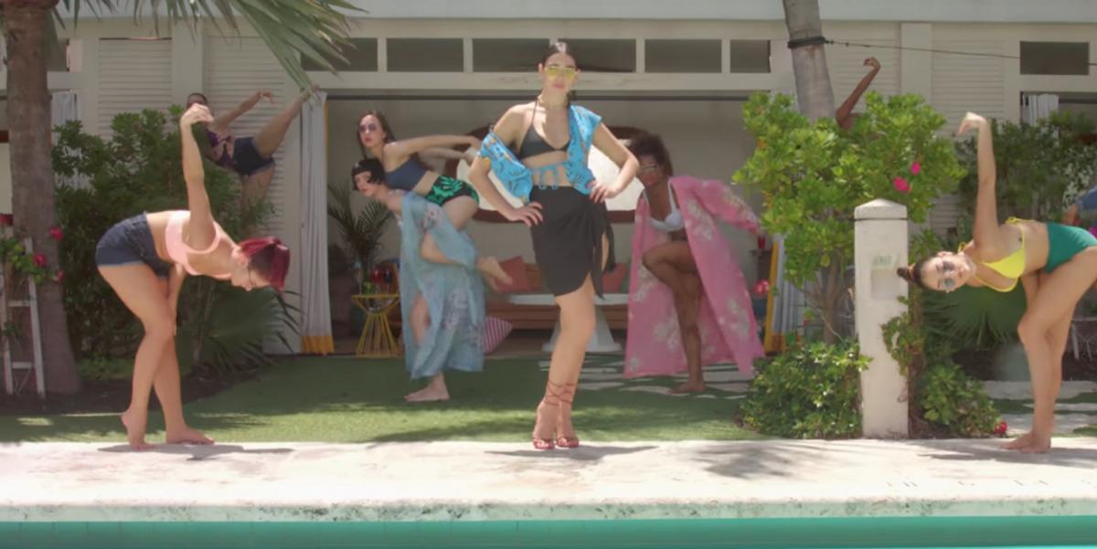 "Watch Dua Lipa's Super Stylish Video for Breakup Anthem ""New Rules"""