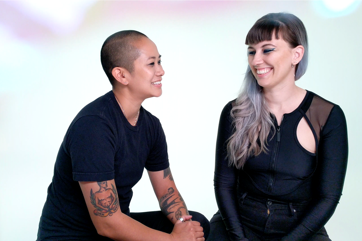 Becca and Christine McCharen-Tran Marry Fashion and Music with Pride