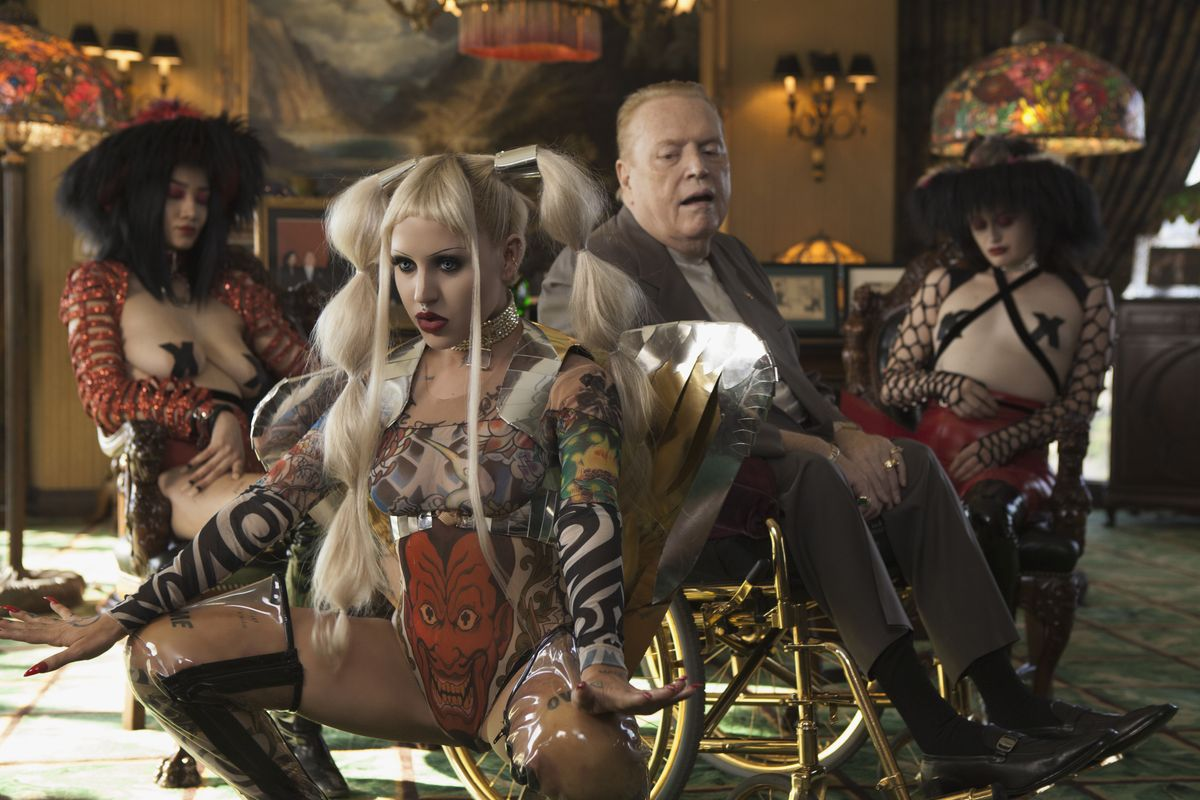 """Watch Brooke Candy's Gothic California Larry-Flynt-Starring New Video, """"Volcano"""""""