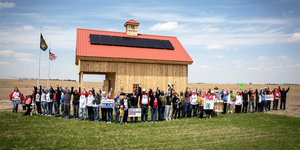 'The Fight Is Not Over': Activist Building Solar Arrays to Block Keystone XL Route