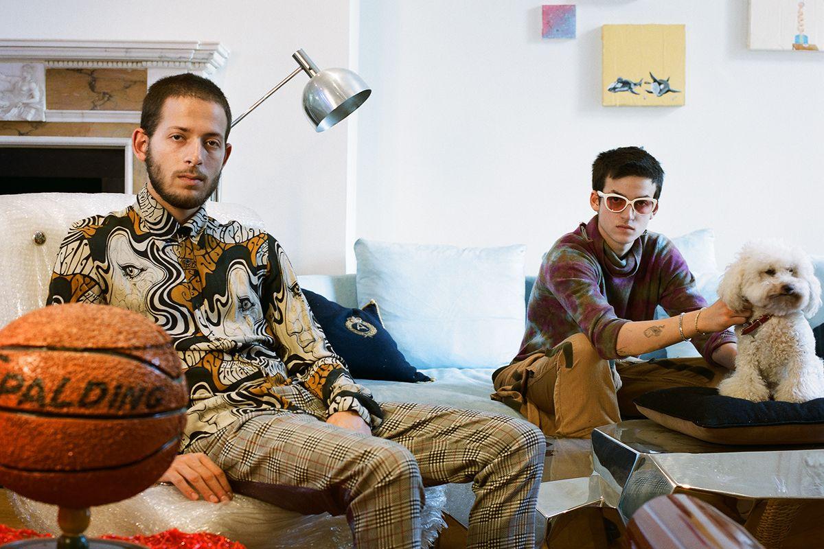 Meet Rising Art Stars Adrian and Kai Schachter
