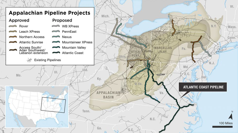 Thousands of Miles of Pipelines Enrage Landowners, Threaten the Future of Our Planet